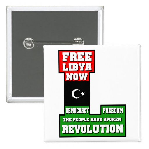 Libia libre ahora pin