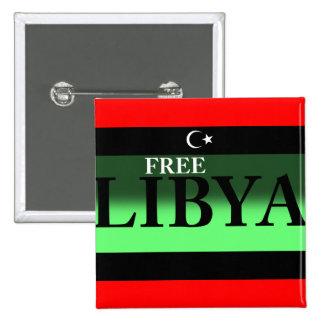 LIBIA LIBRE PIN CUADRADO