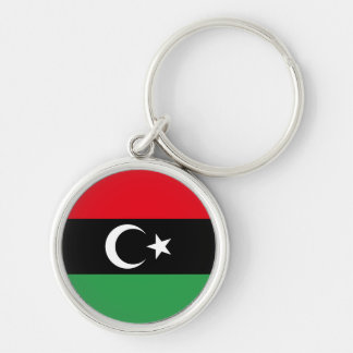 Libia Llavero Redondo Plateado