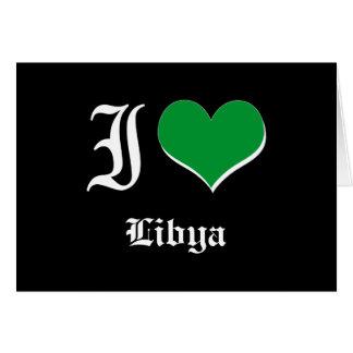 Libia Tarjeta De Felicitación
