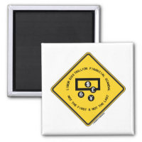LIBOR $350 Trillion Financial Scandal Not First 2 Inch Square Magnet