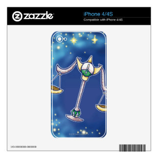Libra 2 decals for iPhone 4S