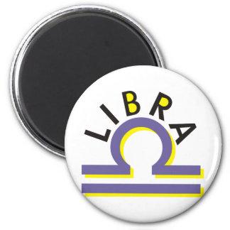 Libra 2 Inch Round Magnet