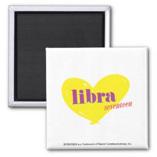Libra 3 2 inch square magnet