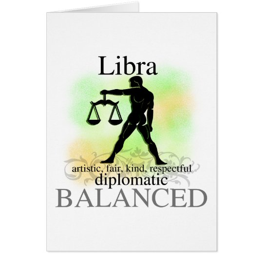 Libra About You Card