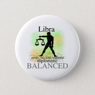 Libra About You Pinback Button