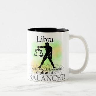 Libra About You Two-Tone Coffee Mug