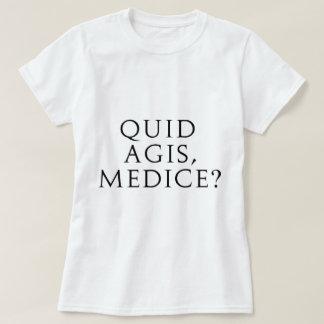 ¿Libra Agis, Medice? Remeras
