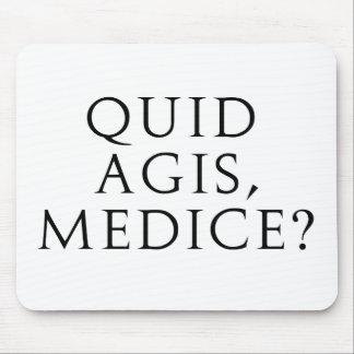 ¿Libra Agis, Medice? Alfombrilla De Raton