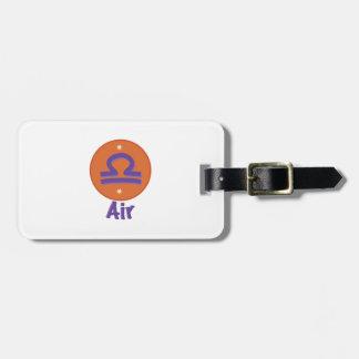 Libra  Air Travel Bag Tag