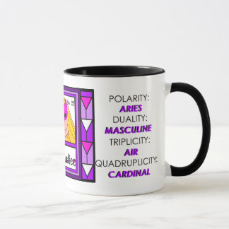 LIBRA -  ASTROLOGICAL PROFILE MUG