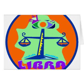 Libra Badge Card