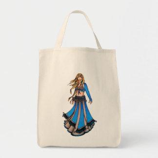 Libra Belly Dancer Tote Bag
