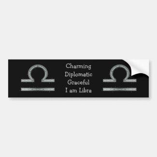 Libra Bumper Sticker