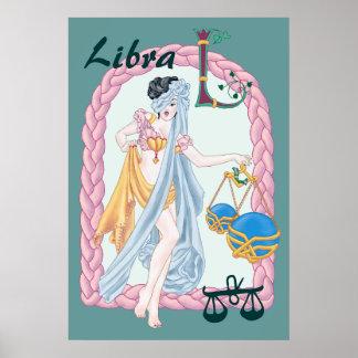 Libra céltico póster