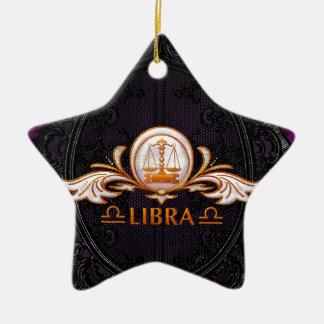 Libra Ceramic Ornament