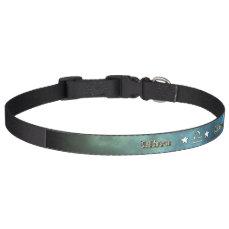 Libra chrome symbol pet collar