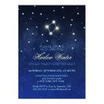 Libra Constellation Birthday Party Card
