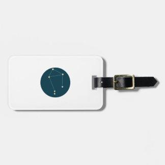 Libra Constellation Bag Tags
