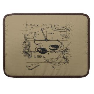 Libra Constellation Map Hevelius circa 1690 MacBook Pro Sleeve