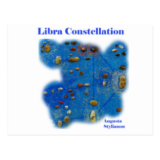 Libra Constellation Post Cards