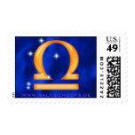 Libra de la muestra del zodiaco sellos