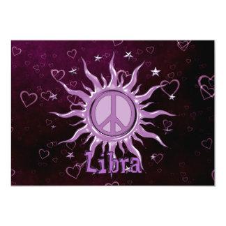 """Libra de Sun de la paz Invitación 5"""" X 7"""""""