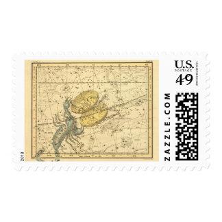 Libra, escorpión sellos postales