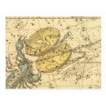 Libra, escorpión tarjetas postales