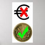 Libra esterlina contra el euro (2) poster