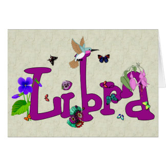 Libra Flowers Greeting Cards
