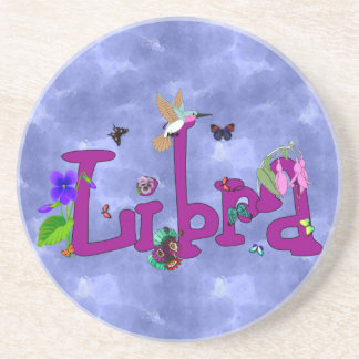 Libra Flowers Drink Coaster