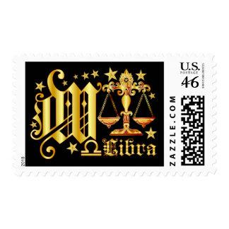 Libra-Font-Design-1-W Stamp