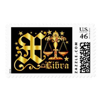 Libra-Font-Design-1-X Postage Stamps
