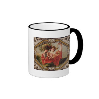 Libra, from the Signs of the Zodiac Ringer Mug