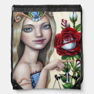 Libra Girl Drawstring Backpack