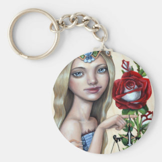 Libra Girl Keychain