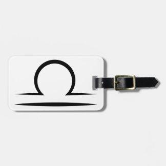 libra greek zodiac astrology horoscope symbol tags for bags