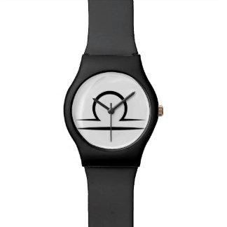 libra greek zodiac astrology horoscope symbol wristwatch