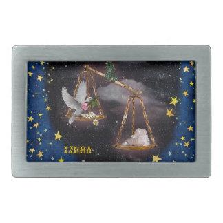 Libra Hebilla Cinturon Rectangular