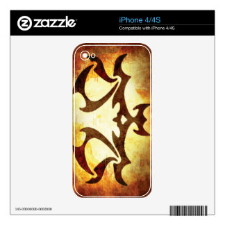 Libra Horoscope Skin For The iPhone 4