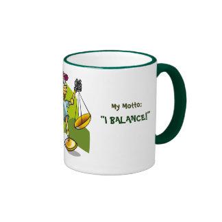 """Libra, I am:Negociating & Ethical, My Motto:, """"... Mug"""