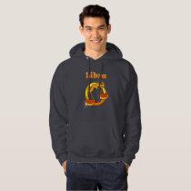 Libra illustration hoodie