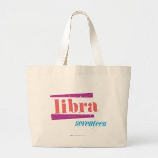 Libra LtPink Bolsa Tela Grande
