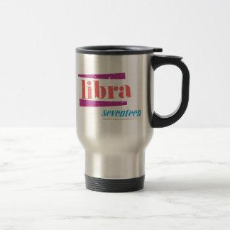 Libra LtPink Travel Mug