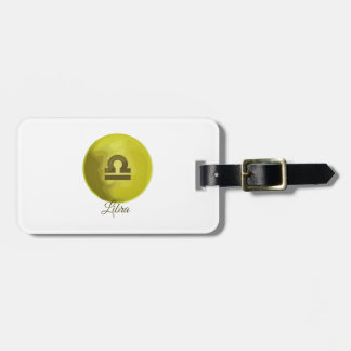 Libra Tag For Bags