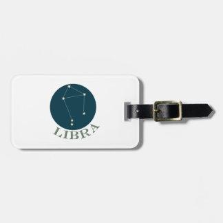 Libra Travel Bag Tags