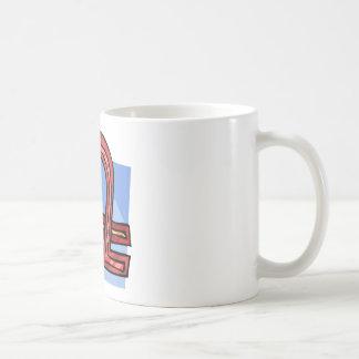Libra Classic White Coffee Mug