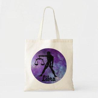 Libra Mug On Space Background Tote Bag