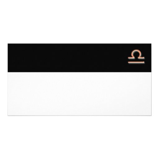 Libra Photo Card